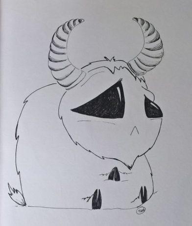 Barbagrigia triste