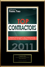 Top Federal Contractor. As published by the Federal Times.