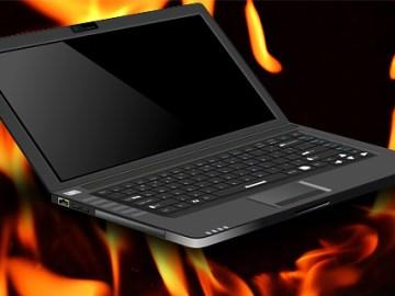 La difusión de temperatura en las notebook