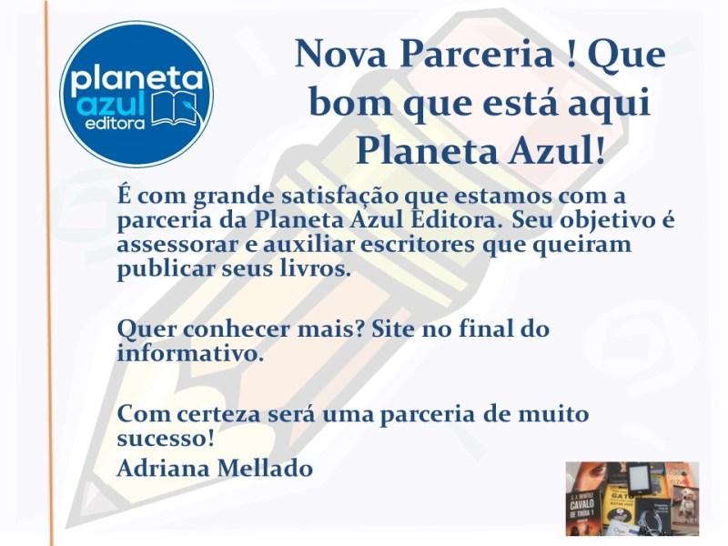 Planeta Azul Editora no Comenta Livros