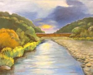 bridge painting
