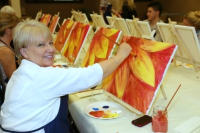 give yourself the gift of creativity and come paint with us!