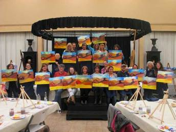 Grass Valley barn subject of paint and wine class