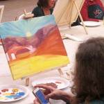 Grass Valley paint and wine class
