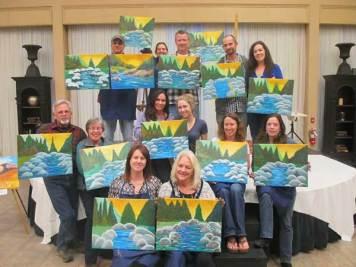 Beautiful paintings of the yuba river