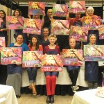 Artistic talents shine in painting classes