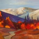 High sierra painting