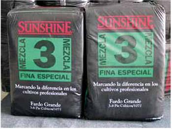 Tenemos mezcla para germinación Sunshine MIX3