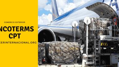 CPT Incoterms en el comercio exterior