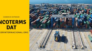 DAT Incoterms en el comercio exterior