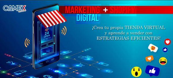 Curso de Marketing Digital + Shopify