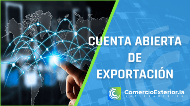 ¿Qué es una cuenta abierta de exportación?