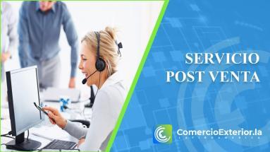 servicio post venta en el comercio internacional