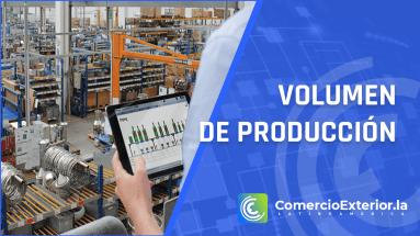 volumen de produccion