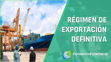 Régimen de exportación definitiva´perú