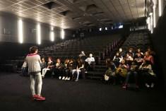 Grupo en Sala Cine