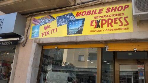MOBILE SHOP servicio técnico