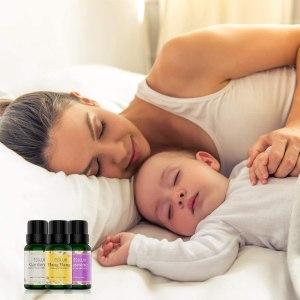 Aceites Esenciales Naturales ESSLUX Flores Aceites Esenciales Para Humidificador Difusor Top 6 Set 100% Natural Puro (rosa, ylang ylang, jazmín, gardenia, cerezo, té blanc)
