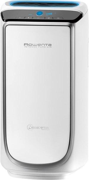 Rowenta PU4020 Intense Pure Air - Purificador de aire, hasta 60 m² con sensores del nivel de contaminación, 4 niveles de filtración y tecnología NanoCaptur para sustancias contaminantes, 45 dB