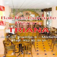 Bar de Tapas Pizzería Restaurante TRIANA en Marbella