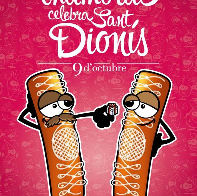 Si estàs enamorat, celebra Sant Dionís