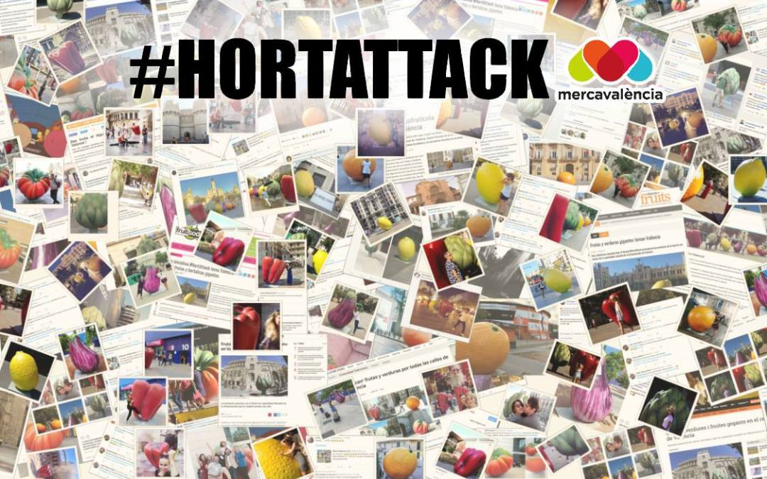 #HortAttack, frutas y hortalizas gigantes para salvar la huerta periurbana
