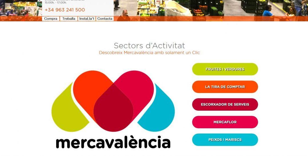 Mercavalència tiene nueva web y apuesta por la diversidad