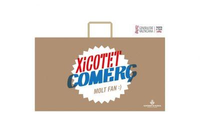 La Generalitat colabora en una subvención para las bolsas del pequeño comercio