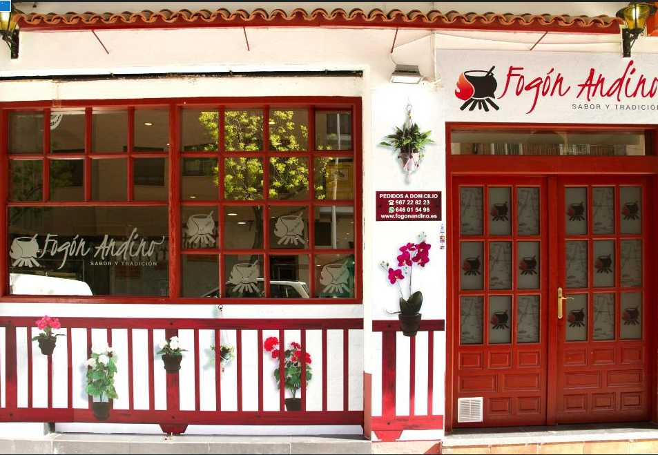 Restaurante colombiano Fogón Andino en Albacete