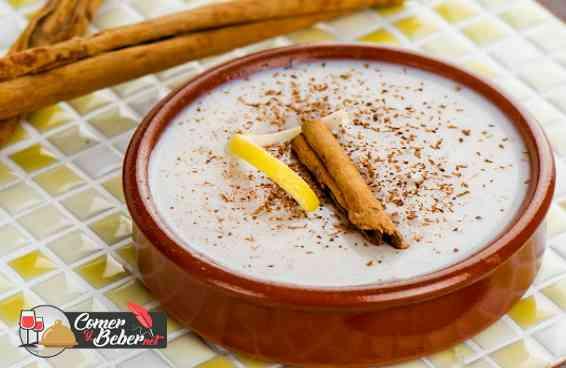 Receta tradicional Arroz con miel