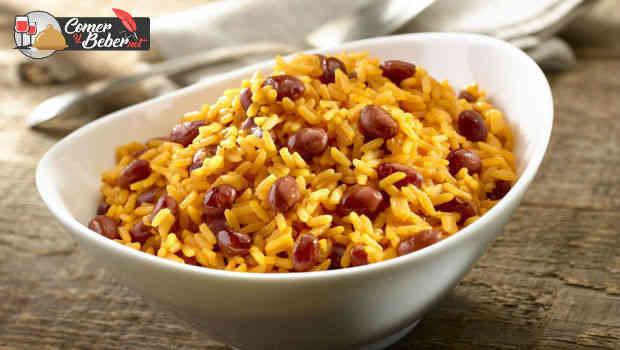 receta arroz con habichuelass
