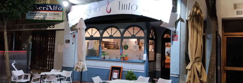 entrada Restaurante Rubia y Tinto
