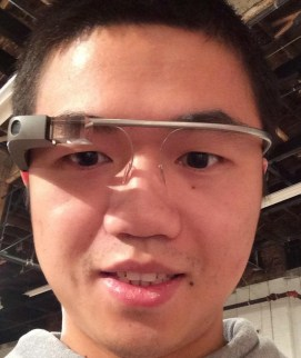 Me with the Google Glass