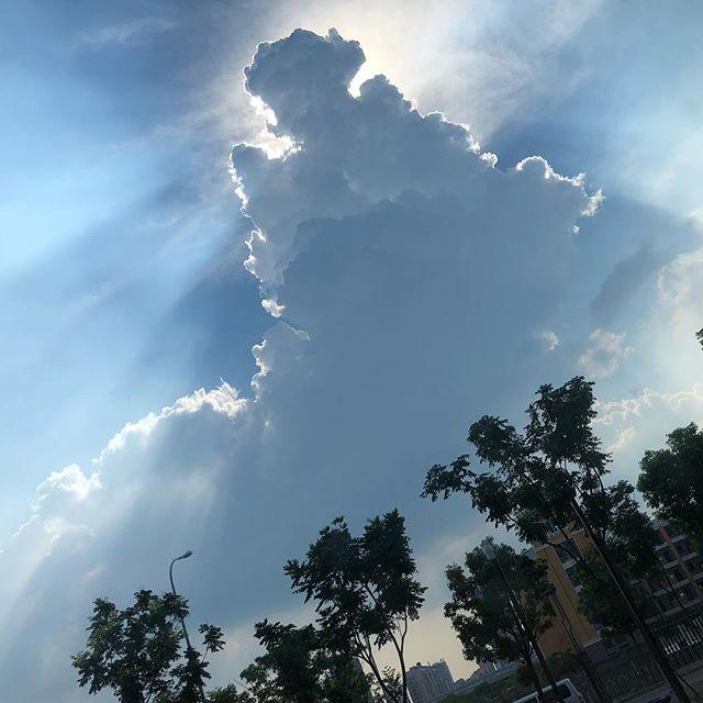 #sky #nofilter #nofilterneeded #magic #summer #changsha #hunan #china #hometown #love