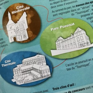 Dessins vectoriels de bâtiments sur Illustrator