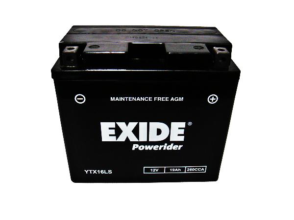 EXIDE POWERIDER YTX16LS D