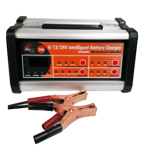 Battery fighter mini 12v 10amp 2 stage fully automatic lead acid jaylec bc9020 intelligent battery charger 20 amp 61224v sciox Image collections
