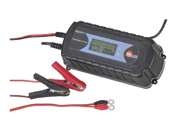 Powertech Plus –  9 State Charger 12V-7.2A24V-3.6A 1