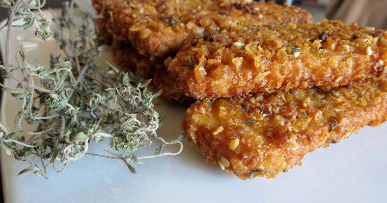 Tofu Panado com Corn Flakes – ou Kick Ass Tofu