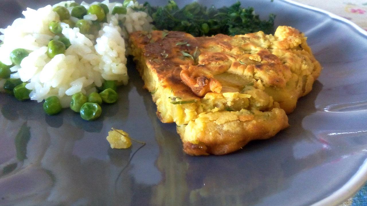 Tortilha vegan de Batata Doce – sem ovos e maravilhosa!