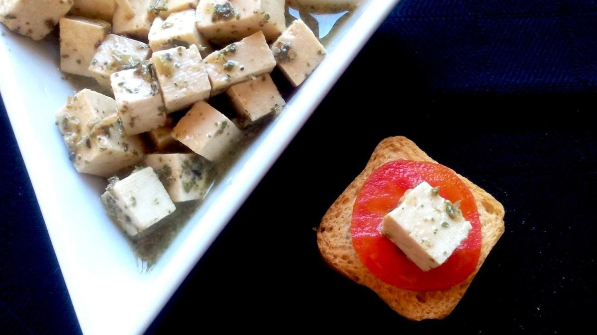 queijo feta vegan