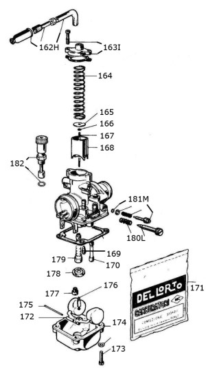 Mini Rok Carburetor Parts :: Vortex Mini Rok Engine Parts :: 2Cycle Engine Parts :: Engines