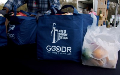 Goodr and Powder Springs partner to provide groceries to families