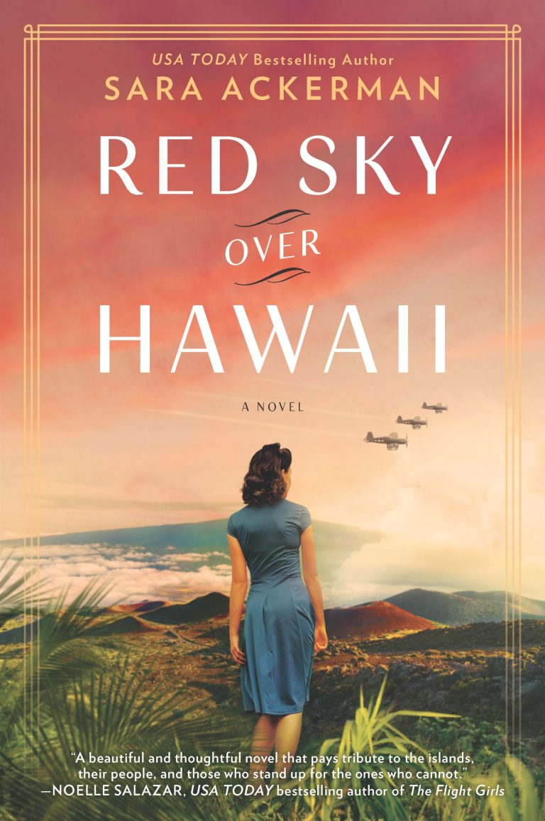 Red Sky Over Hawaii book cover