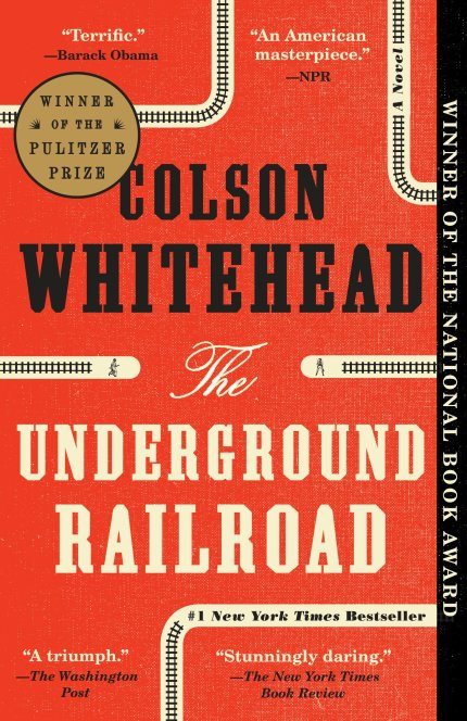 The Underground Railroad book cover
