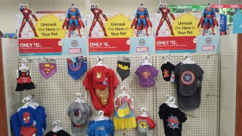 PetSmart Marvel and DC Comics Tees and Dresses