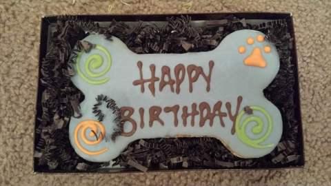 Birthday Dog Treat