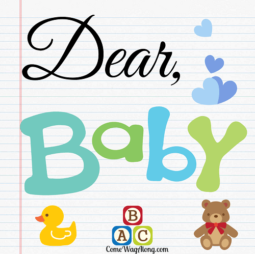 letters to baby - dear baby