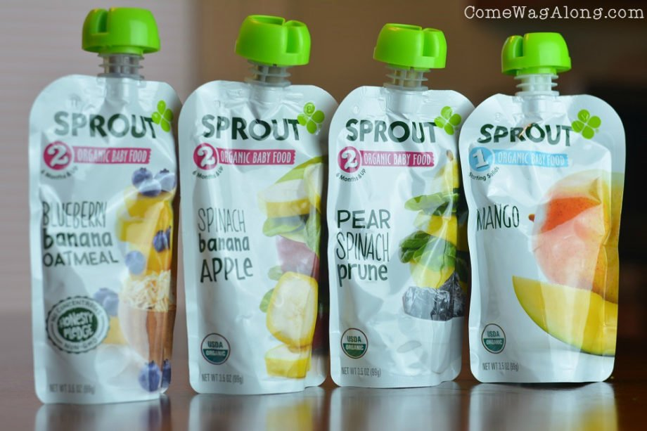 New Sprout Pouch Flavors
