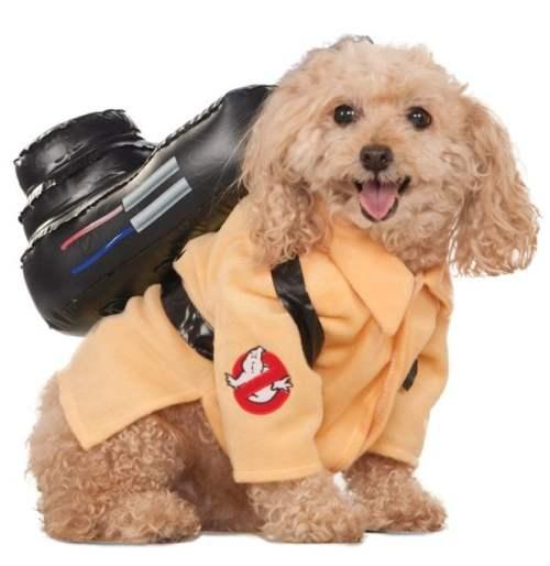 Ghostbusters Dog Halloween Costume